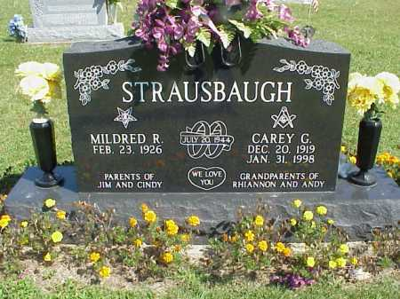 STRAUSBAUGH, MILDRED R. - Meigs County, Ohio | MILDRED R. STRAUSBAUGH - Ohio Gravestone Photos