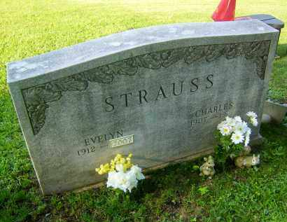 STRAUSS, CHARLES - Meigs County, Ohio | CHARLES STRAUSS - Ohio Gravestone Photos