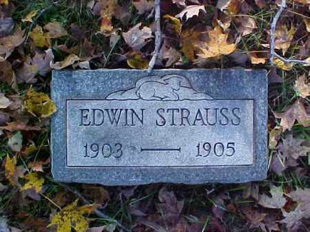 STRAUSS, EDWIN - Meigs County, Ohio | EDWIN STRAUSS - Ohio Gravestone Photos
