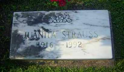 STRAUSS, JUANITA - Meigs County, Ohio | JUANITA STRAUSS - Ohio Gravestone Photos