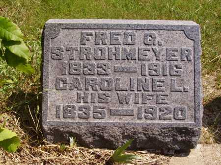 STROHMEYER, CAROLINE L. - Meigs County, Ohio | CAROLINE L. STROHMEYER - Ohio Gravestone Photos