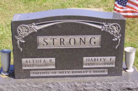 STRONG, ALTHEA R. - Meigs County, Ohio | ALTHEA R. STRONG - Ohio Gravestone Photos
