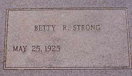 STRONG, BETTY R. - Meigs County, Ohio | BETTY R. STRONG - Ohio Gravestone Photos