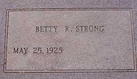 STRONG, BETTY R. - Meigs County, Ohio | BETTY R. STRONG - Ohio Gravestone Photos