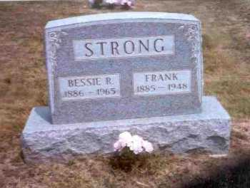 STRONG, BESSIE R. - Meigs County, Ohio | BESSIE R. STRONG - Ohio Gravestone Photos