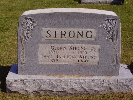 HALLIDAY STRONG, EMMA - Meigs County, Ohio | EMMA HALLIDAY STRONG - Ohio Gravestone Photos