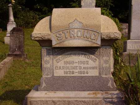 STRONG, CAROLINE D. - Meigs County, Ohio | CAROLINE D. STRONG - Ohio Gravestone Photos