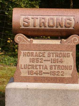 STRONG, HORACE - Meigs County, Ohio | HORACE STRONG - Ohio Gravestone Photos