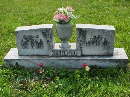 STRONG, HOWARD E. - Meigs County, Ohio | HOWARD E. STRONG - Ohio Gravestone Photos