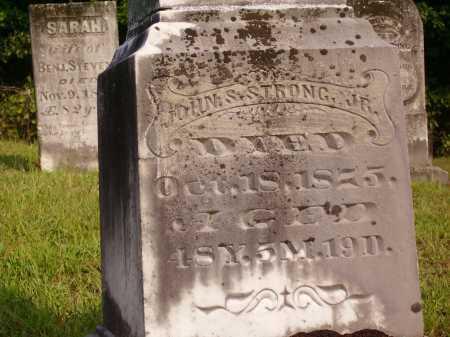 STRONG, JOHN S., JR - Meigs County, Ohio   JOHN S., JR STRONG - Ohio Gravestone Photos