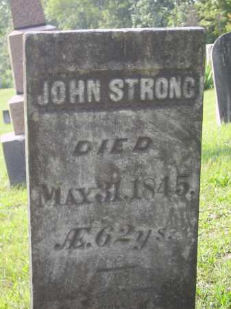 STRONG, JOHN S. - Meigs County, Ohio | JOHN S. STRONG - Ohio Gravestone Photos