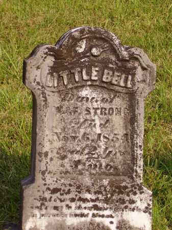 STRONG, LITTLE BELL - Meigs County, Ohio | LITTLE BELL STRONG - Ohio Gravestone Photos