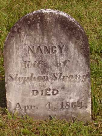 STRONG, NANCY - Meigs County, Ohio | NANCY STRONG - Ohio Gravestone Photos