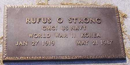 STRONG, RUFUS O - Meigs County, Ohio | RUFUS O STRONG - Ohio Gravestone Photos