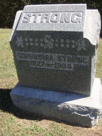 SHAW STRONG, SOPHRONIA - Meigs County, Ohio | SOPHRONIA SHAW STRONG - Ohio Gravestone Photos