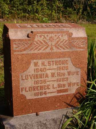 STRONG, LOVINNIA W. - Meigs County, Ohio | LOVINNIA W. STRONG - Ohio Gravestone Photos