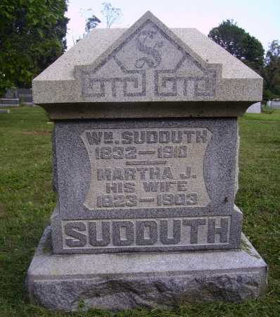 SUDDUTH, MARTHA J. - Meigs County, Ohio | MARTHA J. SUDDUTH - Ohio Gravestone Photos