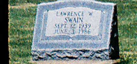 SWAIN, LAWRENCE W. - Meigs County, Ohio | LAWRENCE W. SWAIN - Ohio Gravestone Photos