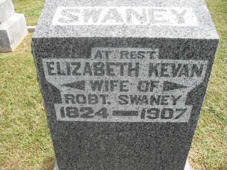 KEVAN SWANEY, ELIZABETH - Meigs County, Ohio | ELIZABETH KEVAN SWANEY - Ohio Gravestone Photos