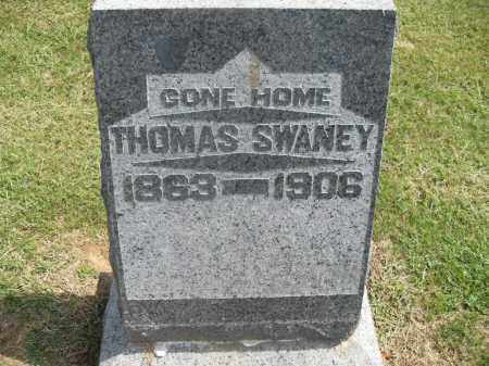 SWANEY, THOMAS - Meigs County, Ohio | THOMAS SWANEY - Ohio Gravestone Photos