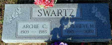 SWARTZ, GENEVIEVE M. - Meigs County, Ohio | GENEVIEVE M. SWARTZ - Ohio Gravestone Photos