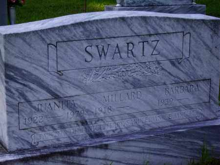SWARTZ, BARBARA [CLOSE VIEW] - Meigs County, Ohio | BARBARA [CLOSE VIEW] SWARTZ - Ohio Gravestone Photos