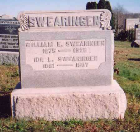 SWEARINGEN, WILLIAM E. - Meigs County, Ohio | WILLIAM E. SWEARINGEN - Ohio Gravestone Photos