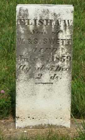 SWETT, ELISHA W. - Meigs County, Ohio | ELISHA W. SWETT - Ohio Gravestone Photos