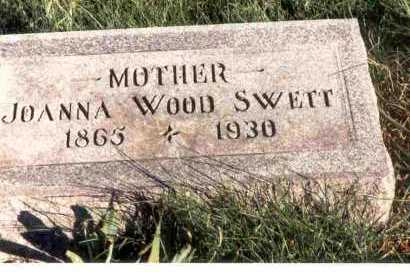 WOOD SWETT, JOANNA - Meigs County, Ohio | JOANNA WOOD SWETT - Ohio Gravestone Photos