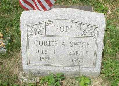 SWICK, CURTIS A. - Meigs County, Ohio | CURTIS A. SWICK - Ohio Gravestone Photos