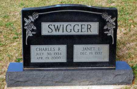 SWIGGER, JANET L. - Meigs County, Ohio | JANET L. SWIGGER - Ohio Gravestone Photos