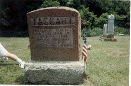 TAGGART, ROSEBURY - Meigs County, Ohio | ROSEBURY TAGGART - Ohio Gravestone Photos