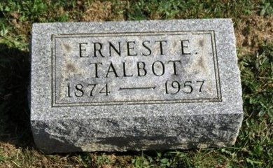 TALBOT, ERNEST E. - Meigs County, Ohio | ERNEST E. TALBOT - Ohio Gravestone Photos