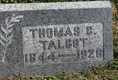 TALBOT, THOMAS C. - Meigs County, Ohio | THOMAS C. TALBOT - Ohio Gravestone Photos