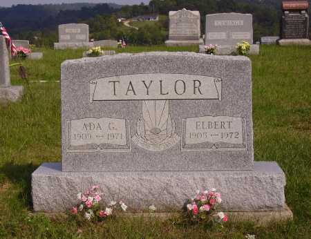 TAYLOR, ADA G. - Meigs County, Ohio | ADA G. TAYLOR - Ohio Gravestone Photos