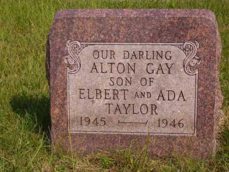 TAYLOR, ALTON GAY - Meigs County, Ohio | ALTON GAY TAYLOR - Ohio Gravestone Photos