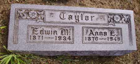 SISSON TAYLOR, ANNA E. - Meigs County, Ohio | ANNA E. SISSON TAYLOR - Ohio Gravestone Photos