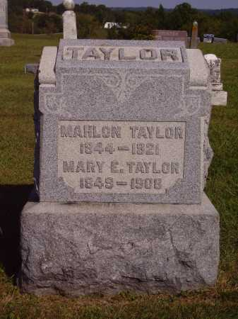 BRALEY TAYLOR, MARY E. - Meigs County, Ohio | MARY E. BRALEY TAYLOR - Ohio Gravestone Photos