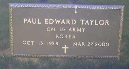 TAYLOR, PAUL EDWARD - Meigs County, Ohio | PAUL EDWARD TAYLOR - Ohio Gravestone Photos