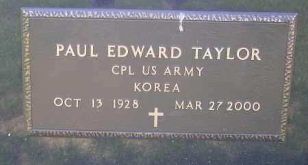 TAYLOR, PAUL EDWARD - Meigs County, Ohio | PAUL EDWARD TAYLOR - Ohio Gravestone Photos