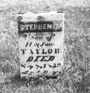 TAYLOR, STEPHEN E. - Meigs County, Ohio | STEPHEN E. TAYLOR - Ohio Gravestone Photos