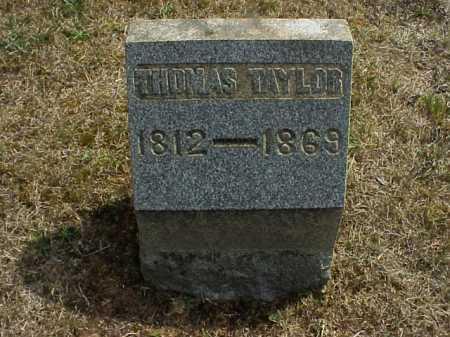 TAYLOR, THOMAS - Meigs County, Ohio | THOMAS TAYLOR - Ohio Gravestone Photos