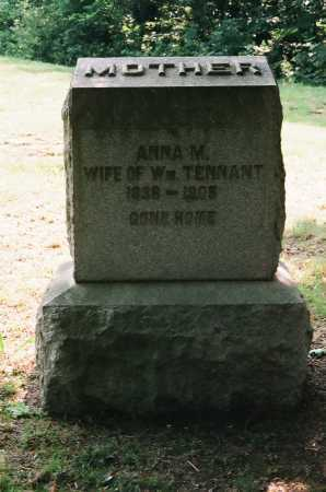 TENNANT, ANNA M. - Meigs County, Ohio | ANNA M. TENNANT - Ohio Gravestone Photos