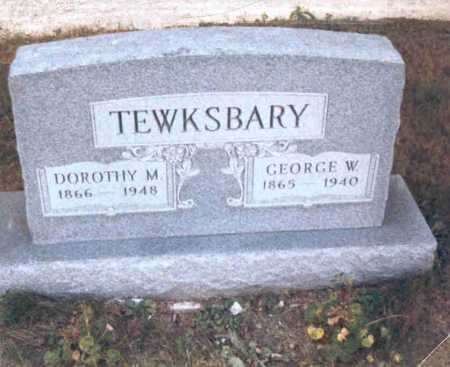 TEWKSBARY, DOROTHY M. - Meigs County, Ohio | DOROTHY M. TEWKSBARY - Ohio Gravestone Photos
