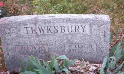 TEWKSBURY, CLISTA NOLA - Meigs County, Ohio | CLISTA NOLA TEWKSBURY - Ohio Gravestone Photos
