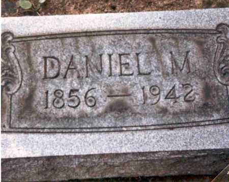 TEWKSBURY, DANIEL M. - Meigs County, Ohio | DANIEL M. TEWKSBURY - Ohio Gravestone Photos