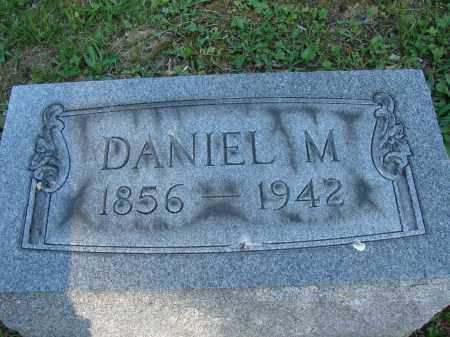 TEWKSBURY, DANIEL M - Meigs County, Ohio | DANIEL M TEWKSBURY - Ohio Gravestone Photos