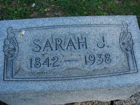 TEWKSBURY, SARAH J - Meigs County, Ohio | SARAH J TEWKSBURY - Ohio Gravestone Photos