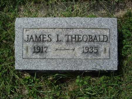 THEOBALD, JAMES L. - Meigs County, Ohio | JAMES L. THEOBALD - Ohio Gravestone Photos
