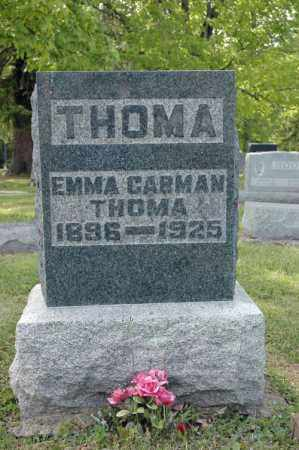 CARMAN THOMA, EMMA - Meigs County, Ohio | EMMA CARMAN THOMA - Ohio Gravestone Photos
